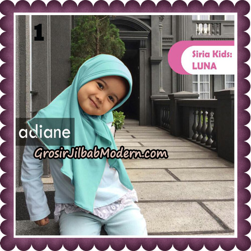 Jilbab Instant Siria Kids Luna Original By Adiane Hijab No 1