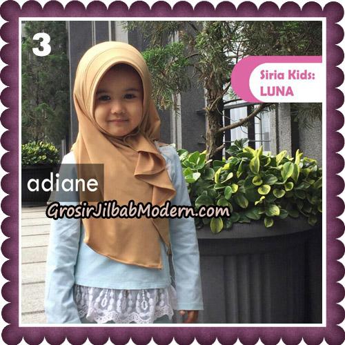 Jilbab Instant Siria Kids Luna Original By Adiane Hijab No 3
