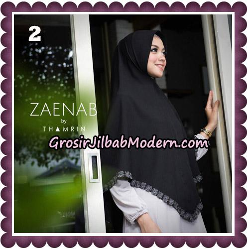 Jilbab Cantik Khimar Zaenab Original by Thamrin Hijab Brand No 2