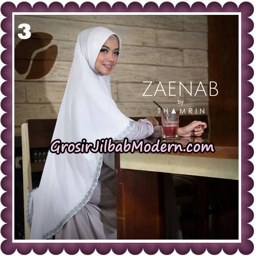Jilbab Cantik Khimar Zaenab Original by Thamrin Hijab Brand No 3