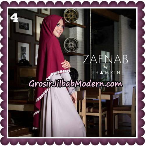 Jilbab Cantik Khimar Zaenab Original by Thamrin Hijab Brand No 4