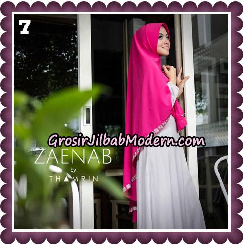 Jilbab Cantik Khimar Zaenab Original by Thamrin Hijab Brand No 7