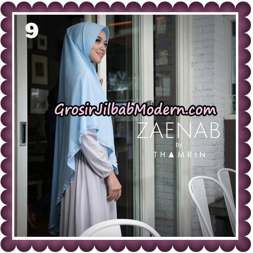 Jilbab Cantik Khimar Zaenab Original by Thamrin Hijab Brand No 9