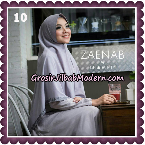 Jilbab Cantik Khimar Zaenab Original by Thamrin Hijab Brand no 10