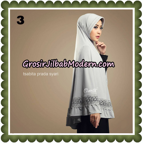 Jilbab Cantik Tsabita Prada Syari Original By Oneto Hijab Brand No 3