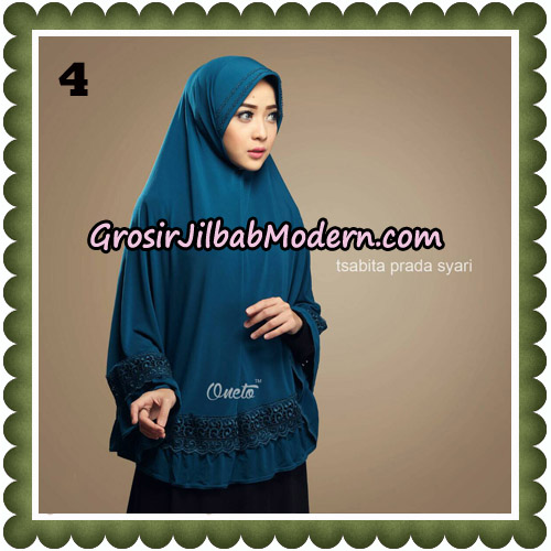Jilbab Cantik Tsabita Prada Syari Original By Oneto Hijab Brand No 4