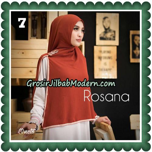 Jilbab Instant Rosana Original By Oneto Hijab Brand No 7