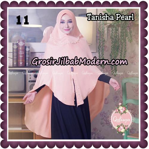 Jilbab Syari Khimar Tanisha Pearl Original by Qalisya Hijab Brand No 11