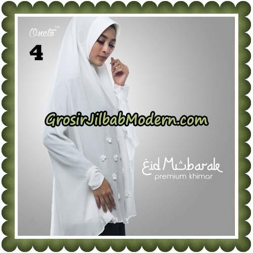 Jilbab Cantik Eid Mubarok Premium Khimar Original By Oneto Hijab Brand No 4