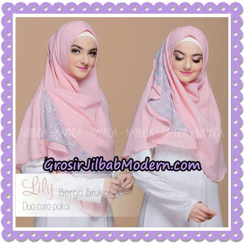 Jilbab Instant Lily Bergo Brukat Original By Narinda Hijab Brand - Cara Pakai