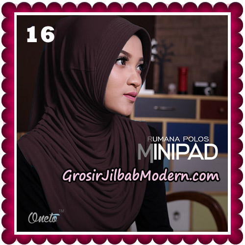 Jilbab Cantik Rumana Polos Minipad Seri 2 Original By Oneto Hijab Brand No 16
