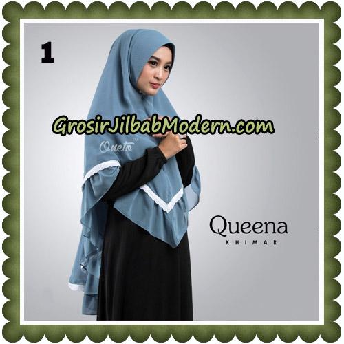 Jilbab Cantik Queena Khimar Original By Oneto Hijab Brand No 1