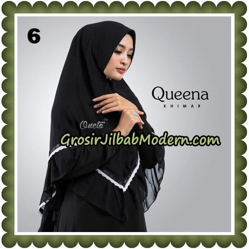Jilbab Cantik Queena Khimar Original By Oneto Hijab Brand No 6