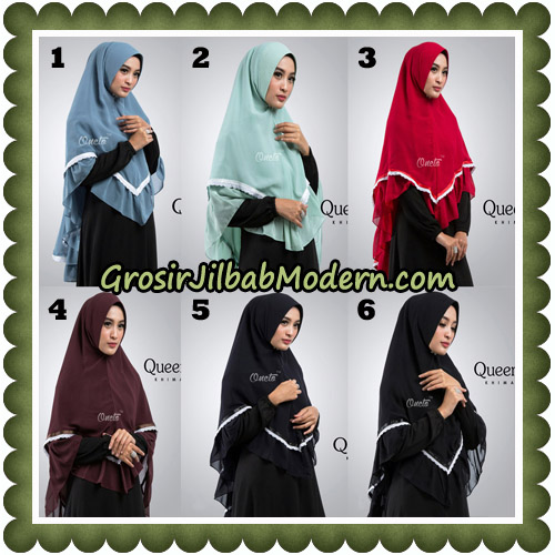 Jilbab Cantik Queena Khimar Original By Oneto Hijab Brand