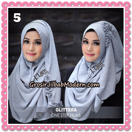 Jilbab Instant Glittera One Step Hijab Original By Flow Idea No 5