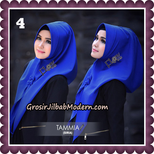 Jilbab Siria Kekinian Tammia Italiano Original By Flow Idea Hijab No 4