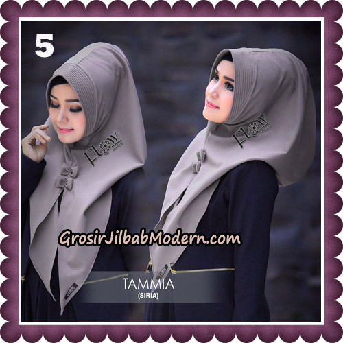 Jilbab Siria Kekinian Tammia Italiano Original By Flow Idea Hijab No 5