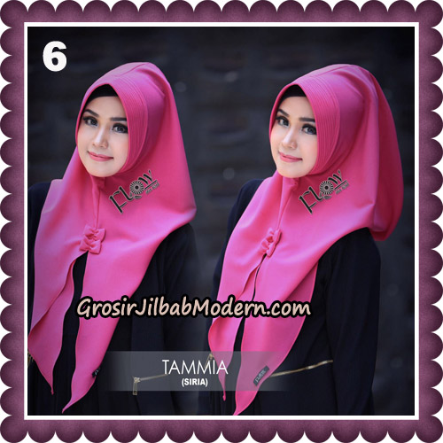 Jilbab Siria Kekinian Tammia Italiano Original By Flow Idea Hijab No 6