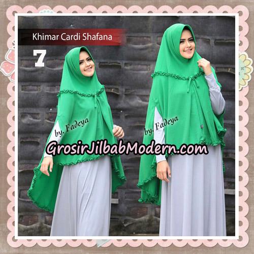 Jilbab Cantik Khimar Cardi Shafana Original By Fadeya Hijab Brand No 7