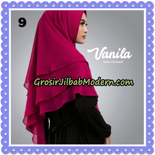 Jilbab Cantik Vanila Mini Khimar Original By Oneto Hijab Brand No 9