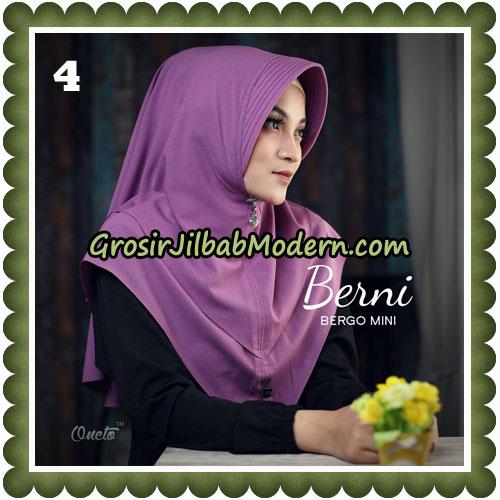 Jilbab Cantik Berni Bergo Mini Original By Oneto Hijab Brand No 4