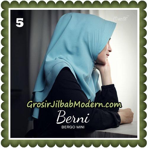 Jilbab Cantik Berni Bergo Mini Original By Oneto Hijab Brand No 5