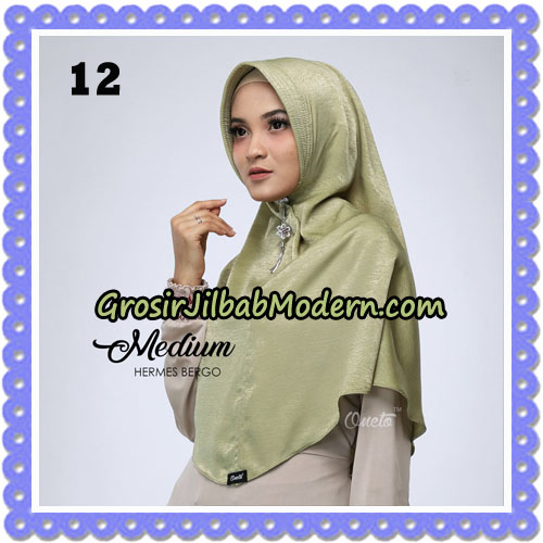 Jilbab Medium Hermes Bergo Original By Oneto Hijab Brand No 12