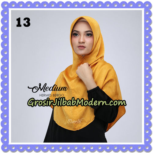 Jilbab Medium Hermes Bergo Original By Oneto Hijab Brand No 13