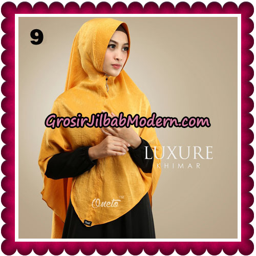Jilbab Cantik Khimar Luxure Original By Oneto Hijab Brand No 9