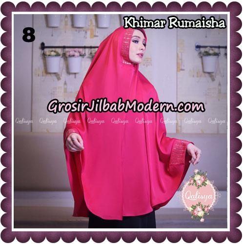 Jilbab Syari Khimar Rumaisha Original by Qalisya Hijab Brand No 8