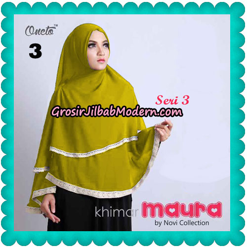 Khimar Maura Seri 3 Original by Novi Collection No 3