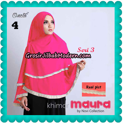 Khimar Maura Seri 3 Original by Novi Collection No 4
