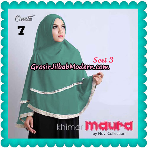 Khimar Maura Seri 3 Original by Novi Collection No 7