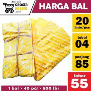 GK66 [BAL isi 40 bks] Uk. 55 x 85 x 04 Kuning Merk KBS