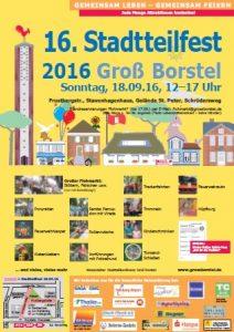 Plakat Stadtteilfest kllein