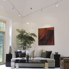 Modern Living Room Track Lighting Decorating Ideas For Rooms With Brick Fireplaces Creative Ways To Use Gross Electric