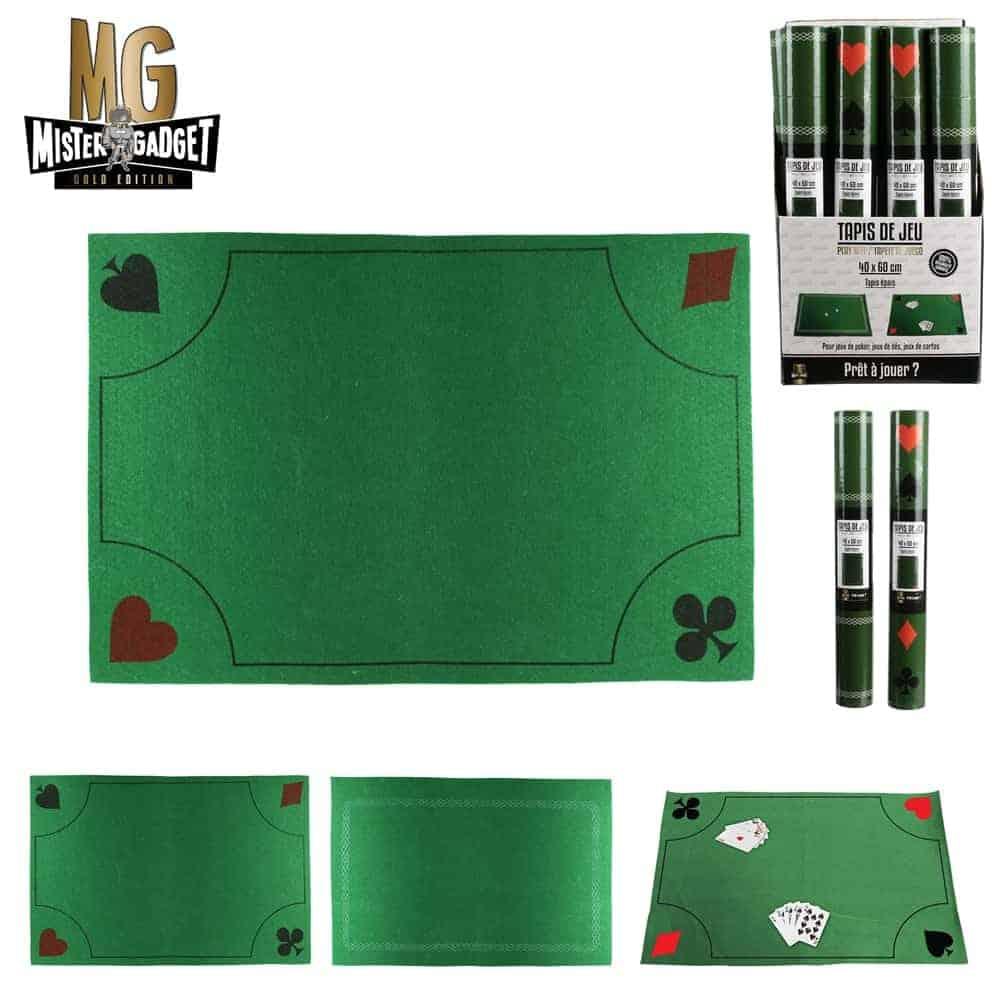 tapis jeux de cartes dimension 40 x 60 cm