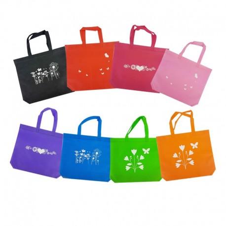 assortiment de sacs non tisses pas cher lot sacs cabas reutilisables