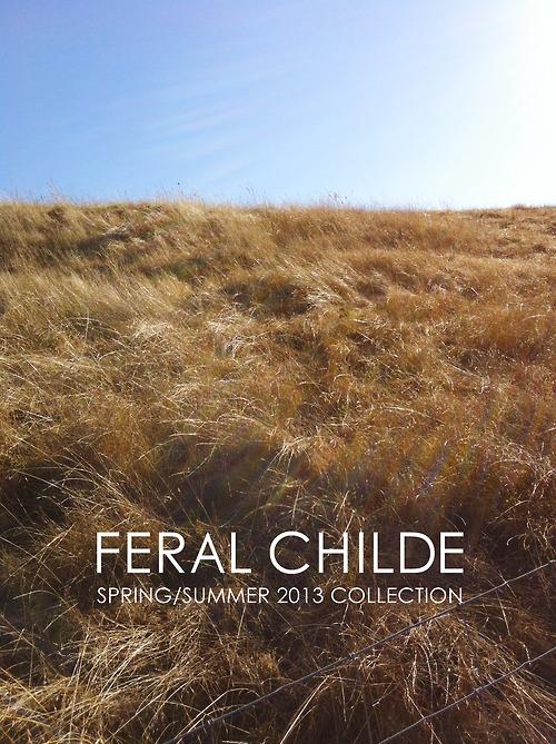 FERAL CHILDE | Frühjahr/Sommer 2013 Kollektion | The Searchers | Foto: Jonathan Hökklo | GROSSARTIG