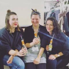 Anna Forssman von Green Friday mit Anna und Jula von JAN N JUNE | Greenshowroom 2016 | Foto: Anna Forssman | GROSS∆RTIG