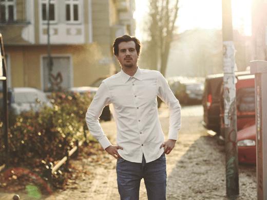 VIRTŪ shared sense | Crowdfunding | Kickstarter | Männerhemd | Foto: VIRTŪ shared sense | GROSS∆RTIG