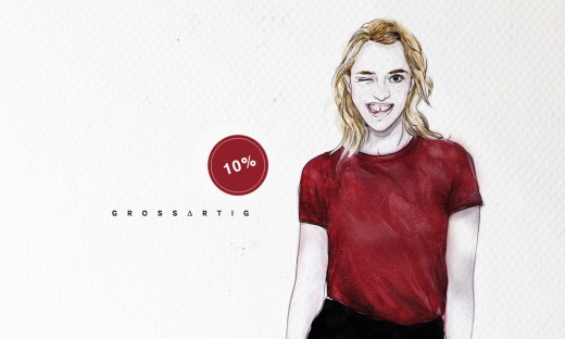 SUNA | Kollektion 2016 | Rotholz Clothing aus Potsdam | Illustration: Franziska Romana | GROSS∆RTIG