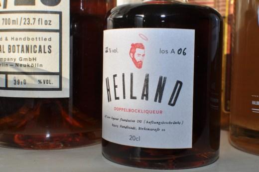HEILAND Doppelbockliqueur   Bierlikör   Foto: Alf-Tobias Zahn   GROSS∆RTIG