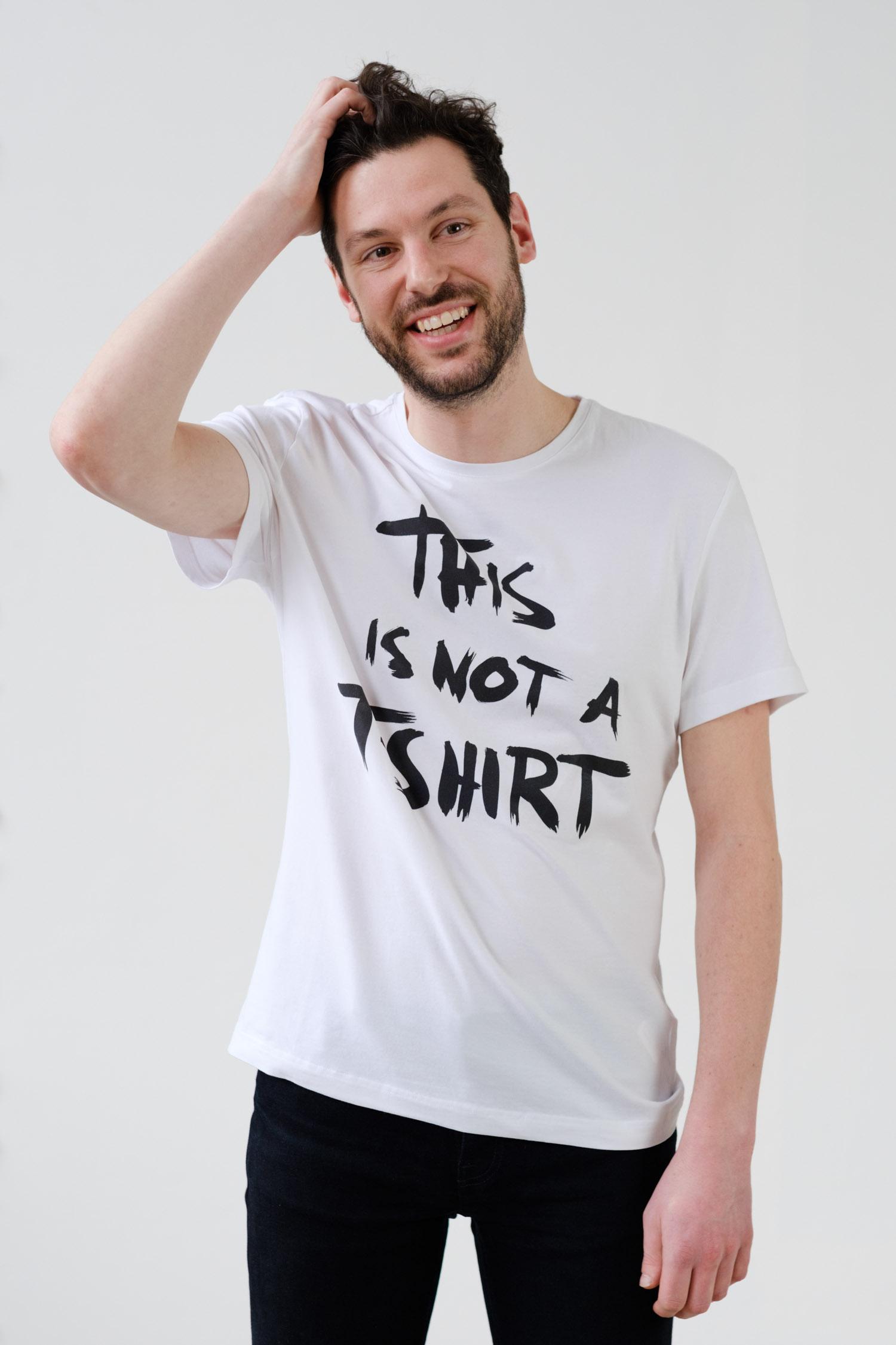 Maarten Hunink | This is not a Shirt Crowdfunding | Griechenland | Geflüchtete | Foto: This is not a shirt | GROSS∆RTIG