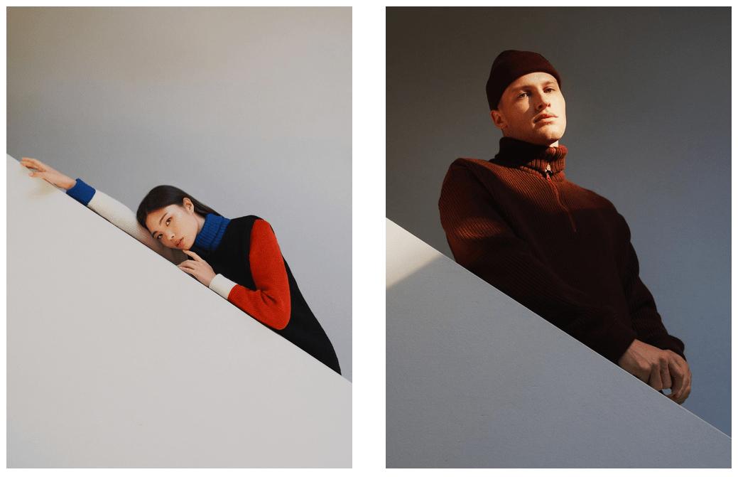 Rotholz Fall/Winter 2018 Kollektion | Strick made in Germany | Foto: Clara Nebeling | GROSS∆RTIG