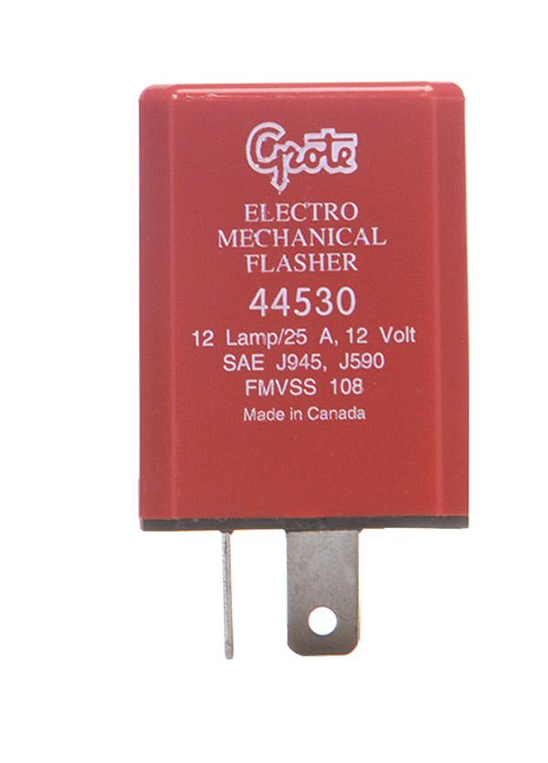 100 Load Center Wiring Diagram 44530 2 Pin Flasher 12 Light Electromechanical