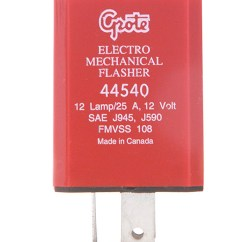 Flasher Relay Wiring Diagram Shovelhead Points 44530 - 12-lamp Electromechanical Grote Industries