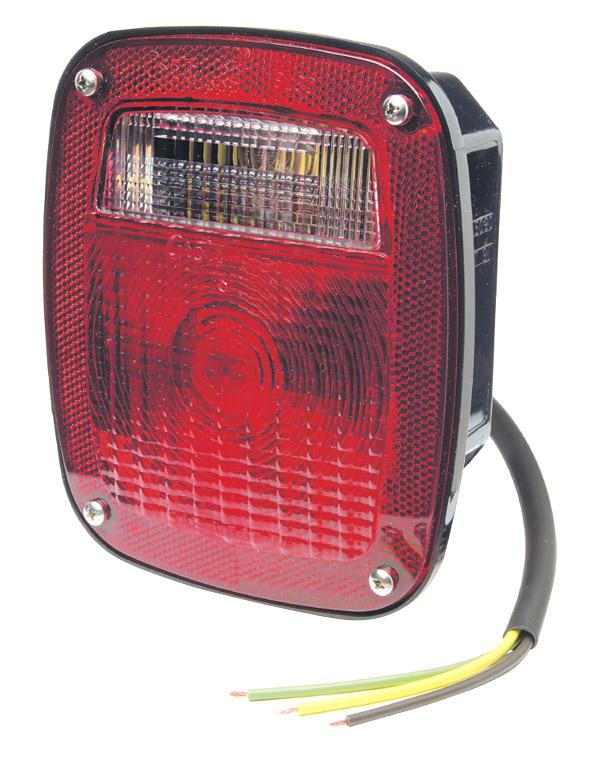 led tail lights wiring diagram 79 trans am ac 50920 - supernova® three-stud stop turn light