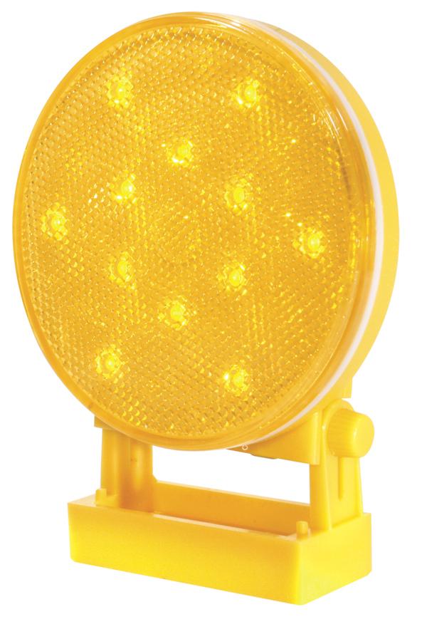 77923  BatteryOperated LED Warning Light Yellow