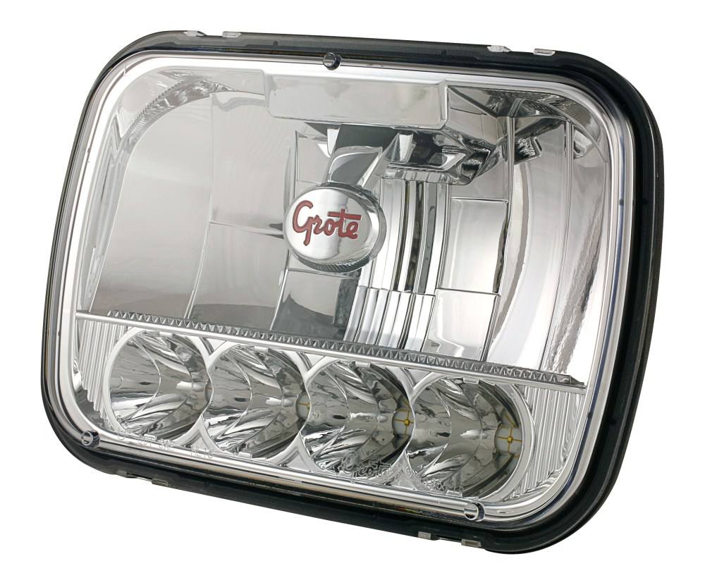 medium resolution of 90951 5 5x7 led sealed beam headlight